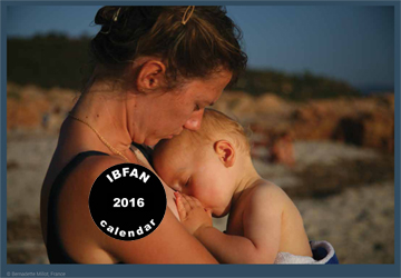 Disponibili i Calendari IBFAN 2016!