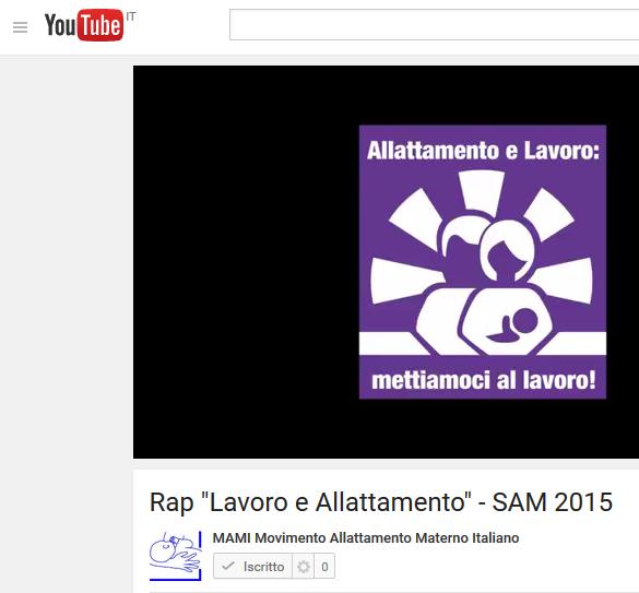 """IL RAP DI """"ALLATTAMENTO E LAVORO"""" È MUSICA!!!!"""
