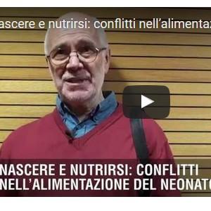 Videointervista ad Adriano Cattaneo su baby food e conflitto d'interessi