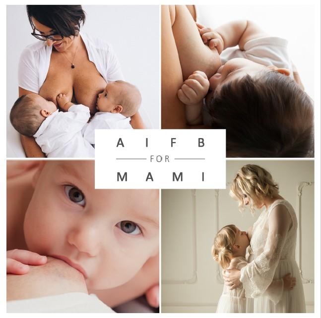 AIFB for MAMI: per la Festa della Mamma, regala a te e al MAMI una foto mentre allatti!