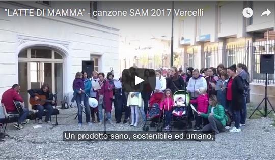 """""""Latte di mamma"""" – Vercelli dona la sua canzone per la SAM!"""