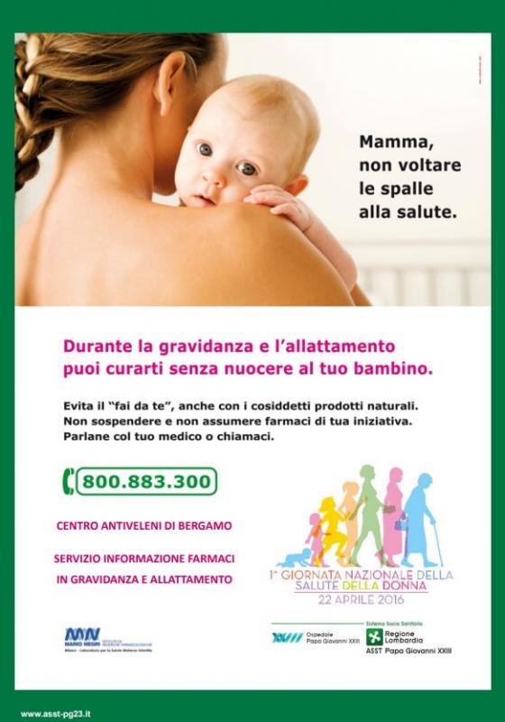 Farmaci in gravidanza e allattamento