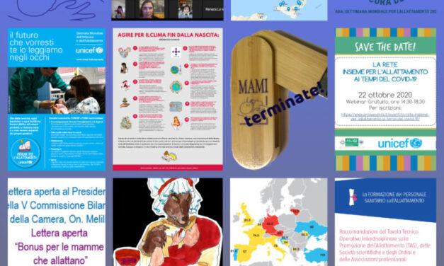 2020 il collage del MAMI! 12 mesi di collaborazioni e condivisioni