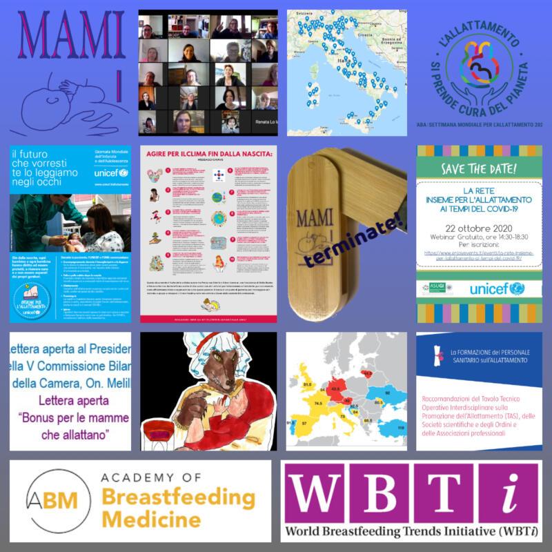 12 mesi di collaborazioni e condivisioni – 2020 il collage del MAMI!