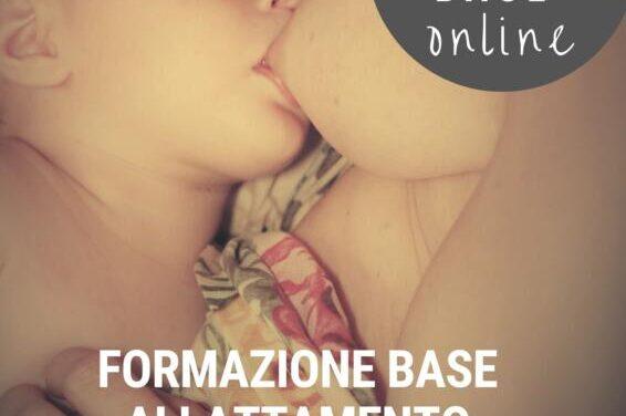 Corso allattamento Formazione base – On Line