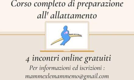 News da Modena – Corso preparazione all'allattamento