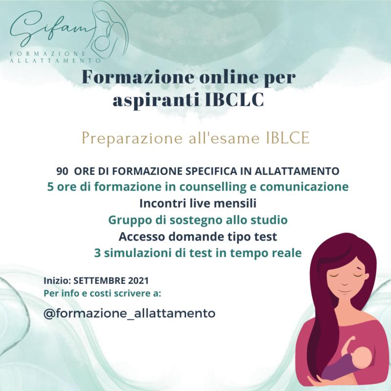 Preparazione Esame IBLCE 2021/2022