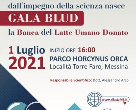Nasce GALA BLUD a Messina, la Banca del Latte Umano Donato