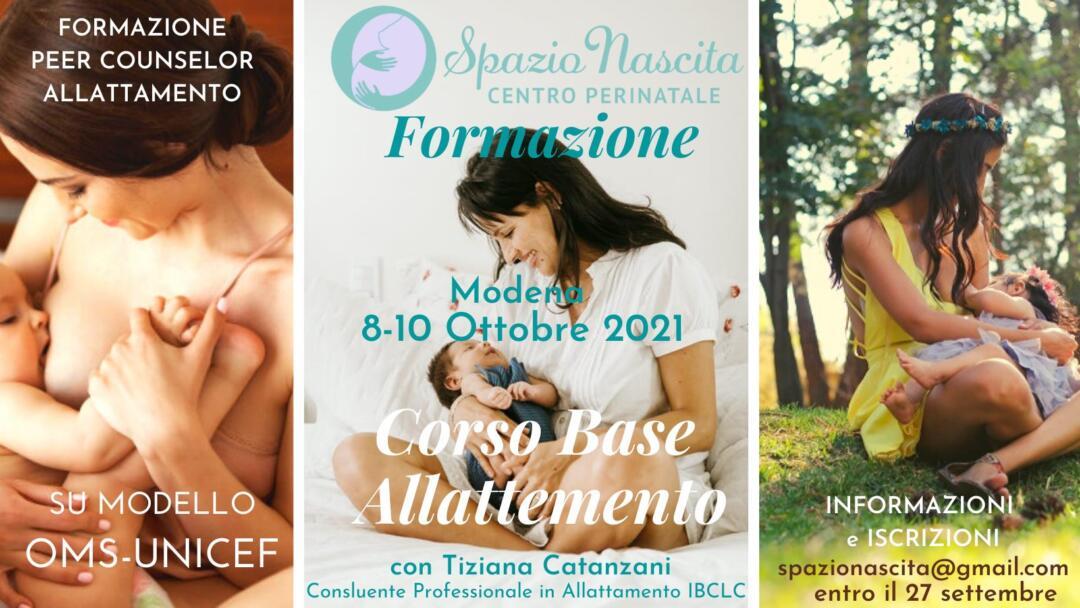 Corso Base Allattamento - Modena