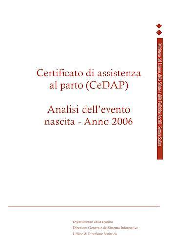 Cedap 2006: l'assistenza al parto in Italia