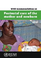 WHO recommendations on postnatal care of the mother and newborn