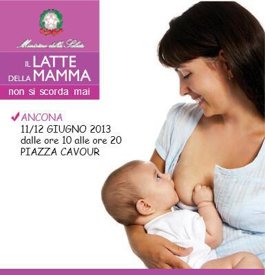 """""""Il latte della mamma non si scorda mai"""": ANCONA, 11-12 giugno"""