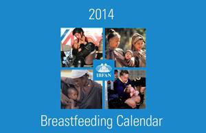 Sono arrivati i bellissimi calendari sull'allattamento di IBFAN!