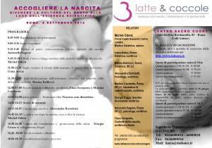 """1° Convegno Latte & Coccole: """"ACCOGLIERE LA NASCITA"""" – Roma"""
