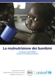 La malnutrizione dei bambini: L'impegno dell'UNICEF contro la mortalità infantile