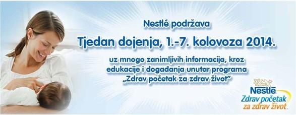 Nestlé e la Settimana Mondiale dell'Allattamento (SAM)